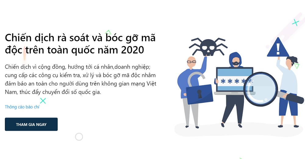 """Kaspersky tham gia chiến dịch """"Rà soát và bóc gỡ mã độc trên toàn quốc năm 2020"""""""