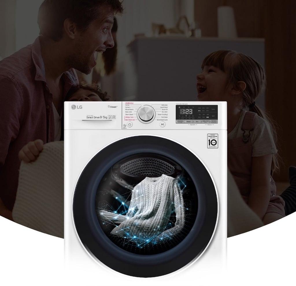 Ra mắt dòng máy giặt dùng trí thông minh nhân tạo LG AI DD
