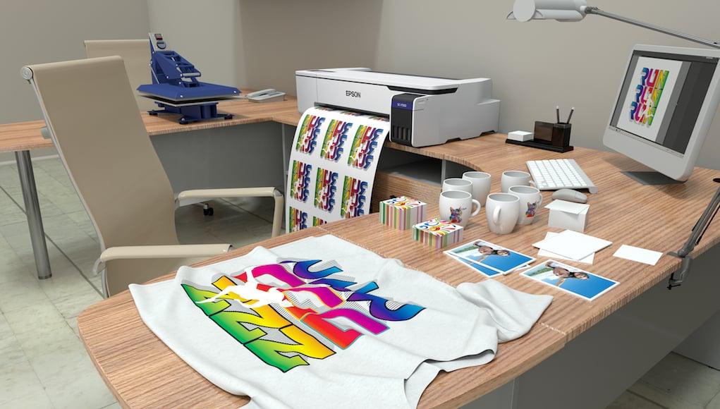 Epson ra mắt máy in vải chuyển nhiệt kỹ thuật số để bàn