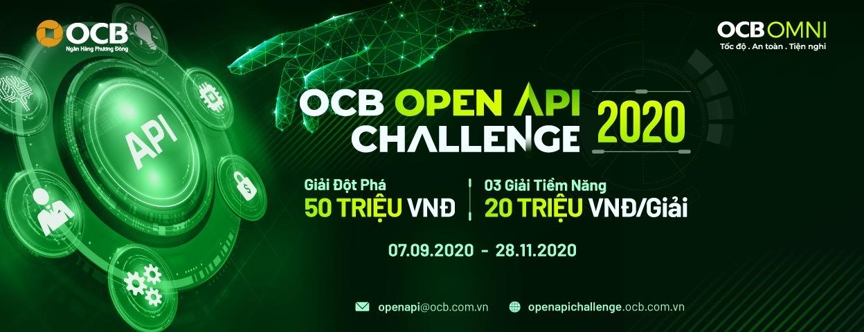 OCB tổ chức cuộc thi Open API Challenge