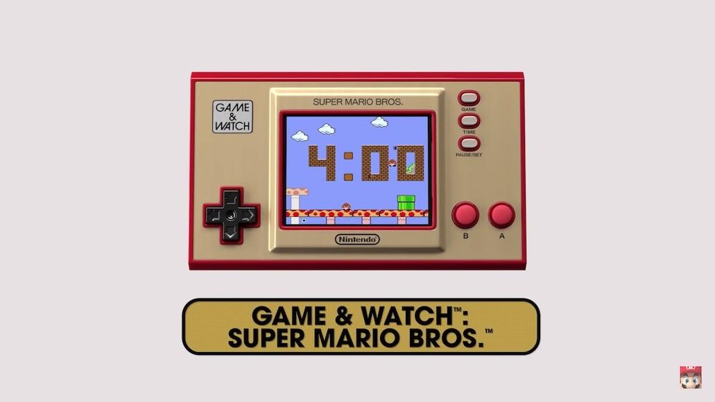 Nintendo Game & Watch, máy chơi game cầm tay ra mắt trong tháng 11