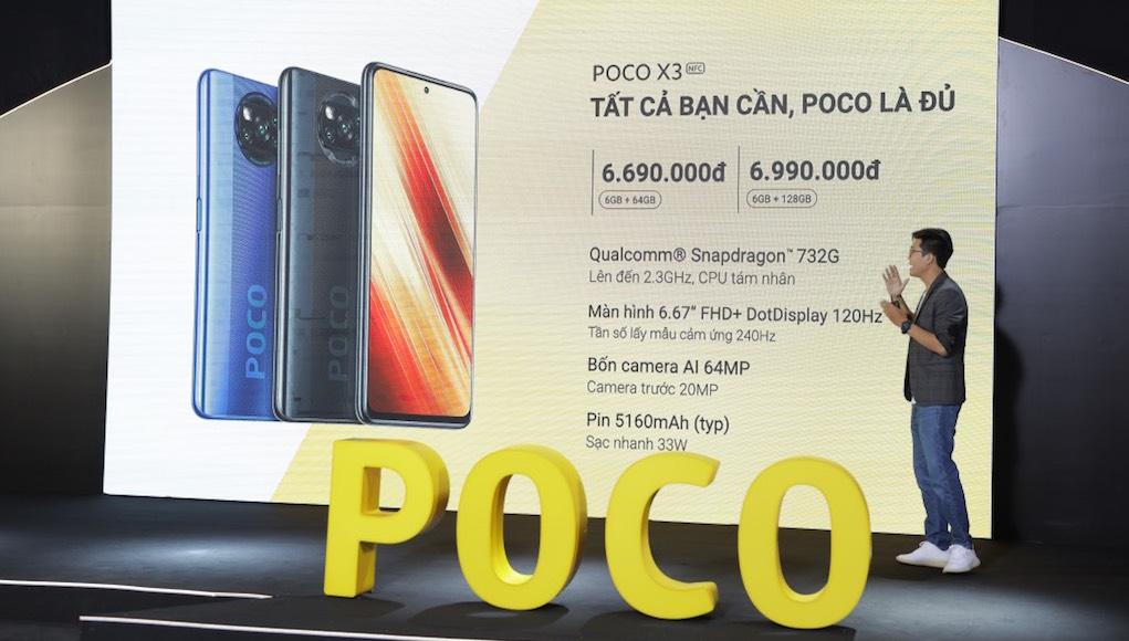 POCO X3 NFC ra mắt thị trường Việt, giá từ 6,69 triệu đồng