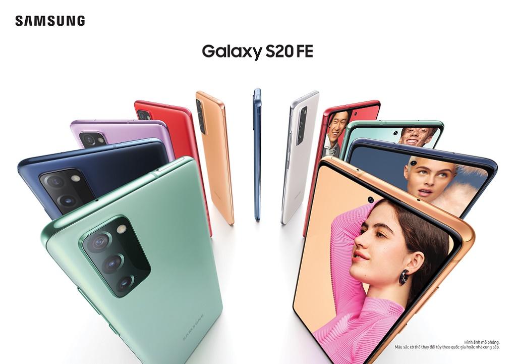 Samsung ra mắt Galaxy S20 FE, hội tụ các tính năng được yêu thích nhất