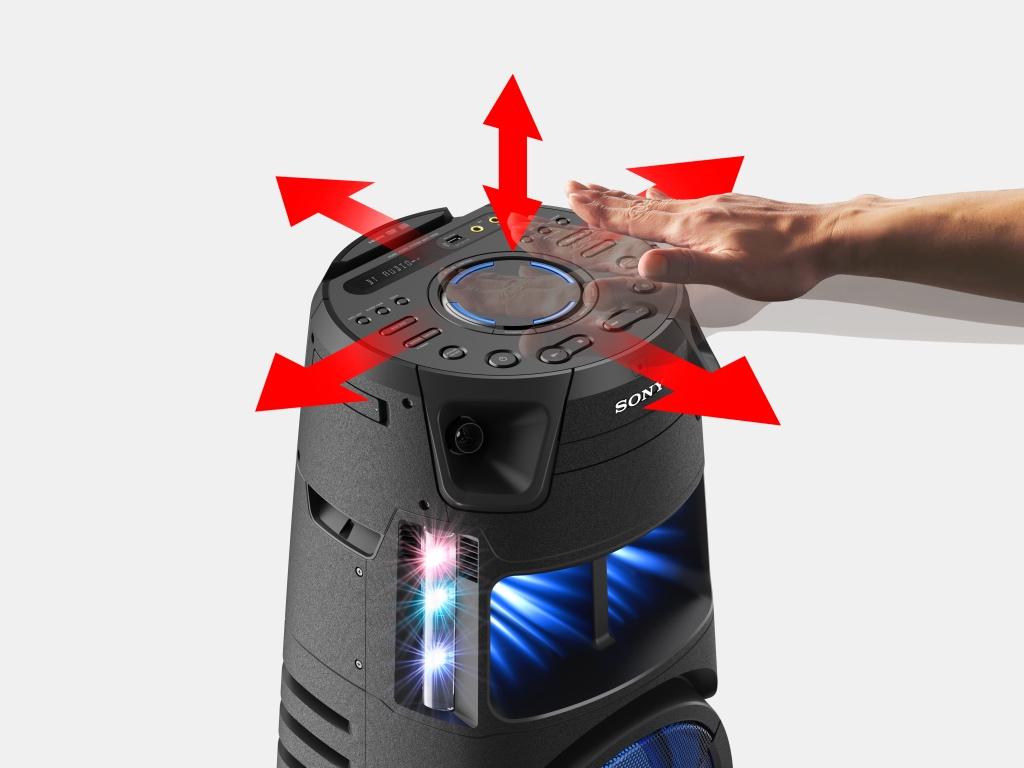 Sony ra mắt 2 hệ thống âm thanh công suất cao MHC-V13, MHC-V43D