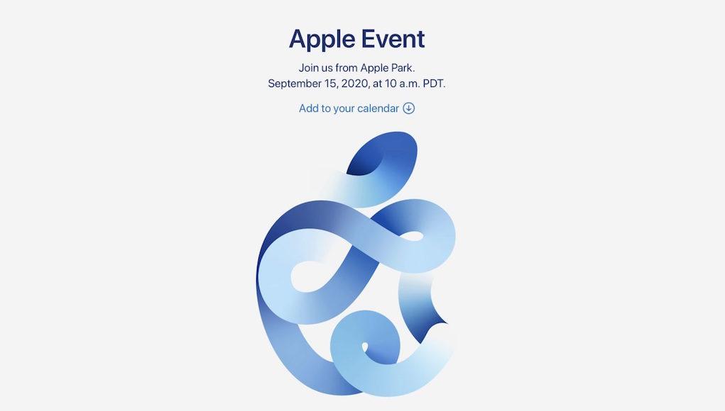 Apple chính thức công bố sự kiện (trực tuyến) iPhone 12 vào 15/9