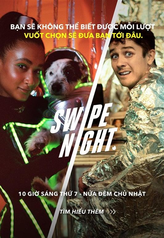 Sự kiện tương tác Tinder 'Swipe Night' ra mắt tại Việt Nam