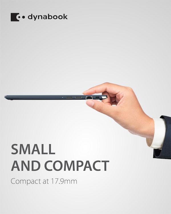 Dynabook Portege X30L, laptop 13,3inch nhẹ nhất thế giới về Việt Nam