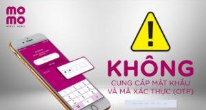 Ví MoMo khuyến cáo người dùng tự bảo vệ bản thân