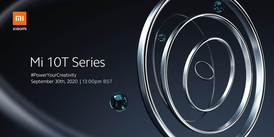 Xiaomi Mi 10T chính thức ra mắt ngày 30/9, màn hình tới 144Hz