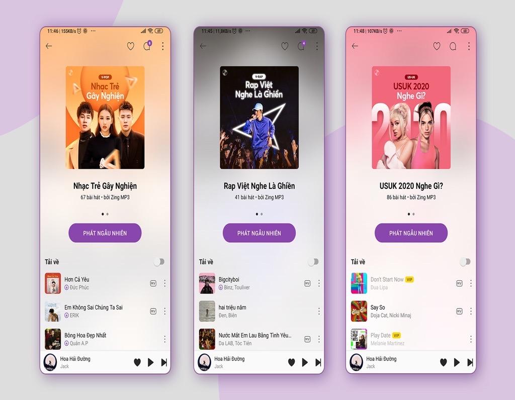 Zing MP3 cập nhật giao diện, dùng AI để tăng trải nghiệm nghe nhạc