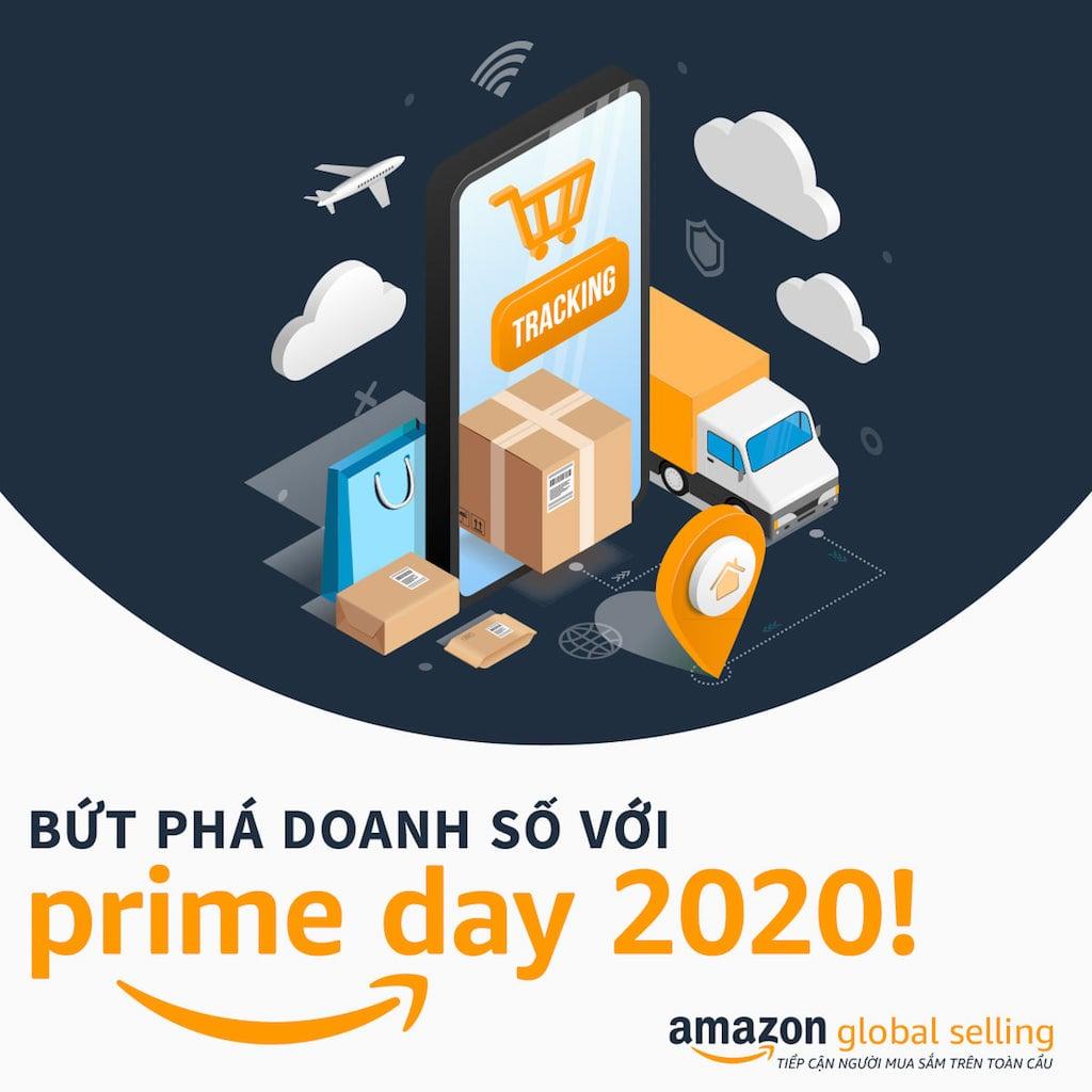 Amazon Prime Day 2020 tiếp tục ghi nhận doanh số kỷ lục từ SMB
