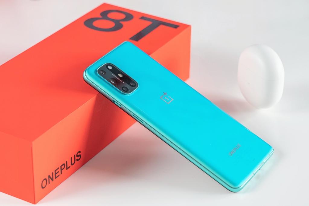 Ảnh mở hộp thực tế OnePlus 8T 5G