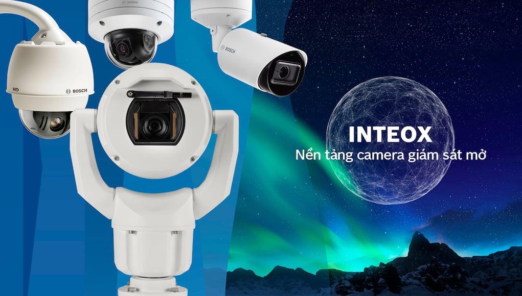 Bosch INTEOX: nền tảng quản lý camera giám sát mở toàn phần