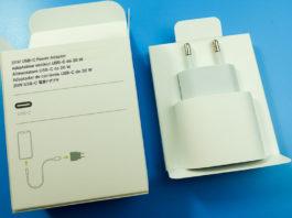 Mở hộp củ sạc nhanh USB-C 20W Power Adapter từ Apple