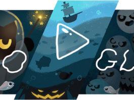 Google tạo nhiều game cho người dùng chơi dịp Halloween