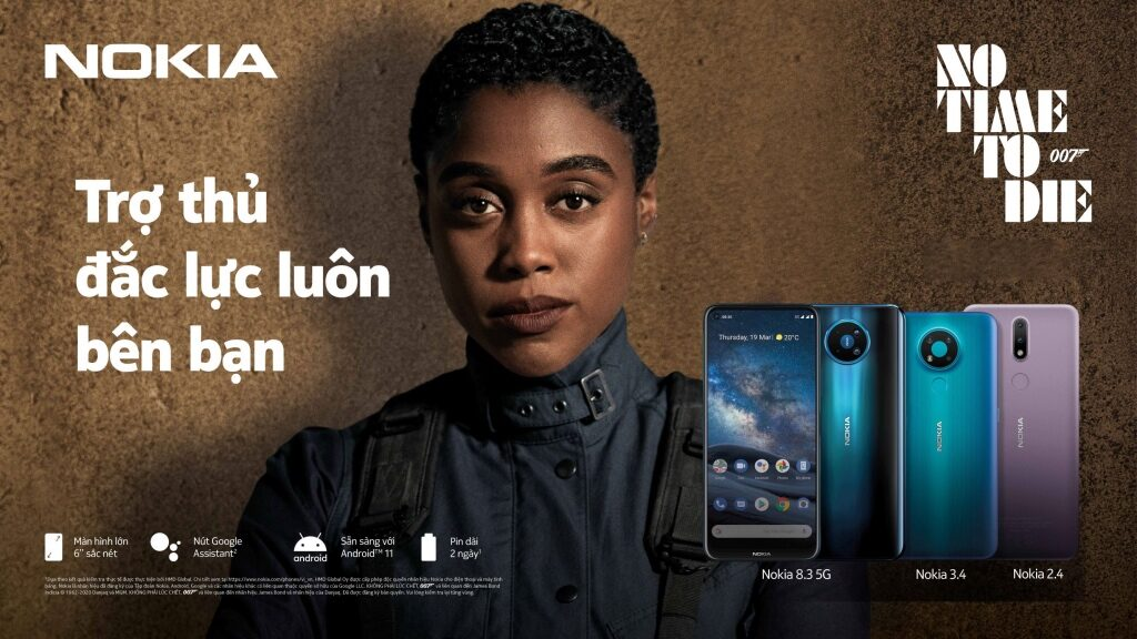 HMD Global ra mắt 3 smartphone Nokia, giá từ 2,7 triệu đồng