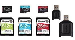 Kingston cải tiến dòng thẻ Canvas và đầu đọc MobileLite Plus