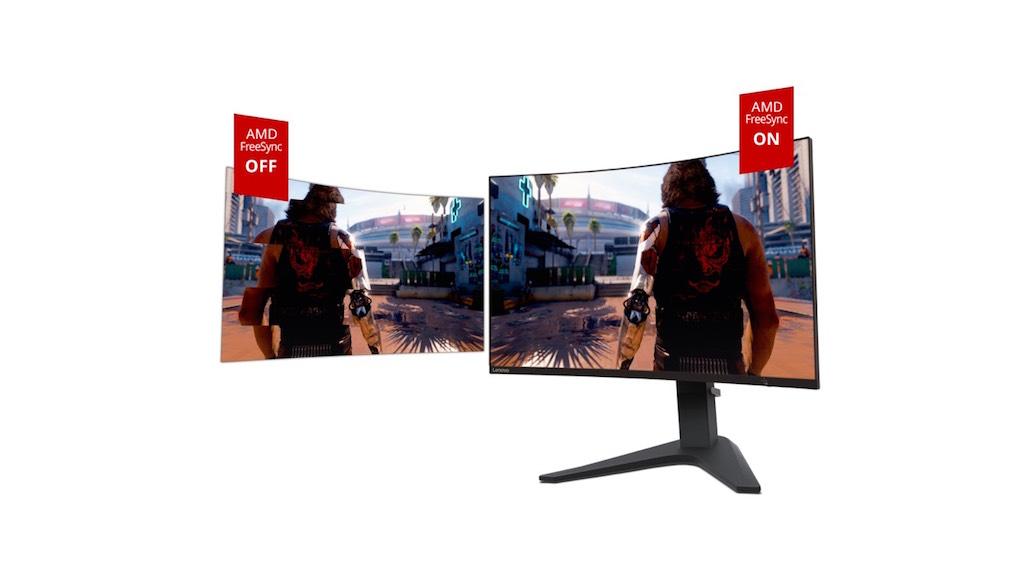Màn hình cong Lenovo G27c-10 cho trải nghiệm chơi game chân thực