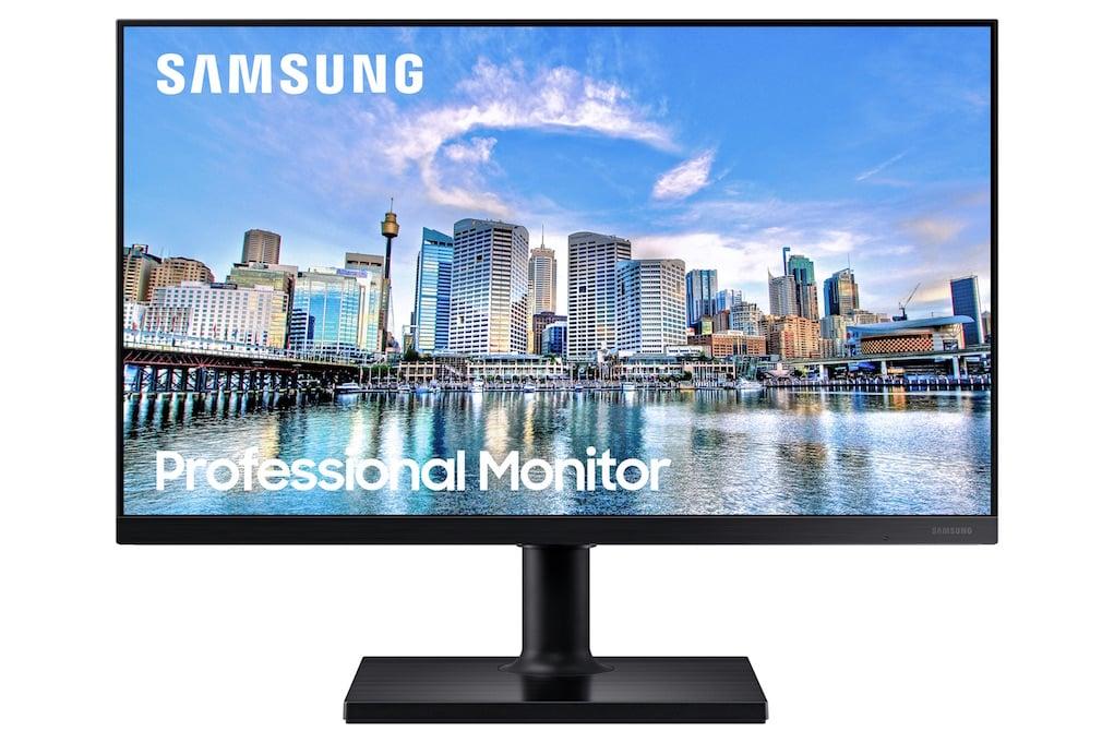 Hai màn hình máy tính doanh nghiệp Samsung T35F / T45F