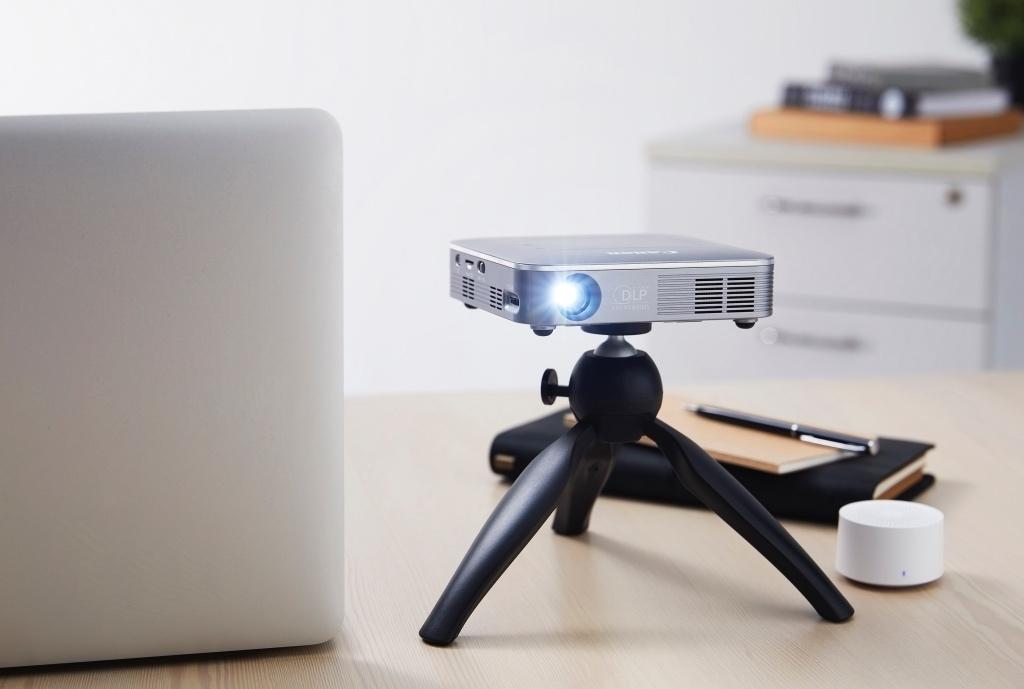 Máy chiếu mini không dây Canon MP250, rạp chiếu phim ngay tại nhà