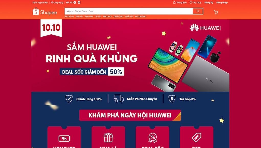 Nhiều chương trình khuyến mãi độc đáo tại ngày hội Huawei 03/10