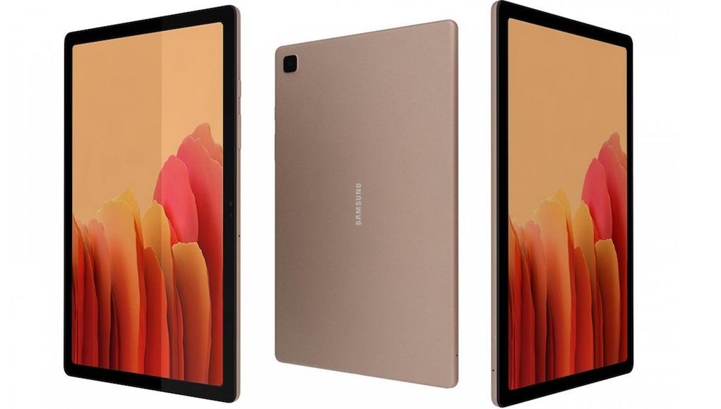 Samsung Galaxy Tab A7 giá 8 triệu, hai phiên bản màu đồng và xám