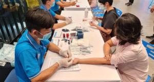 """Samsung Vina và Roche tổ chức chương trình """"Hiến máu, cứu người"""""""
