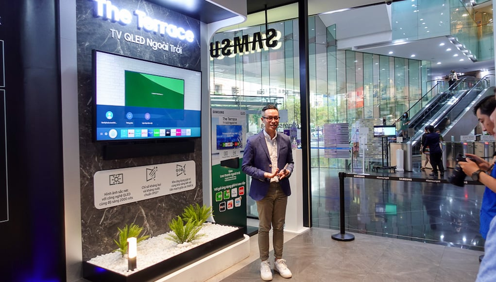 Samsung tổ chức workshop trải nghiệm TV QLED ngoài trời The Terrace