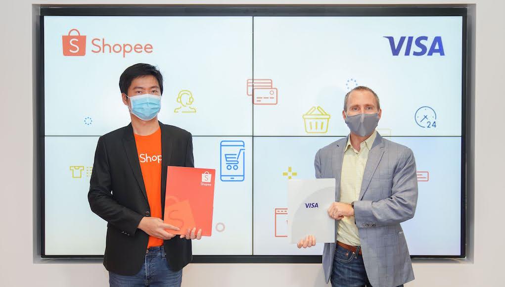 Shopee và Visa ký kết hợp tác chiến lược 5 năm khu vực Đông Nam Á