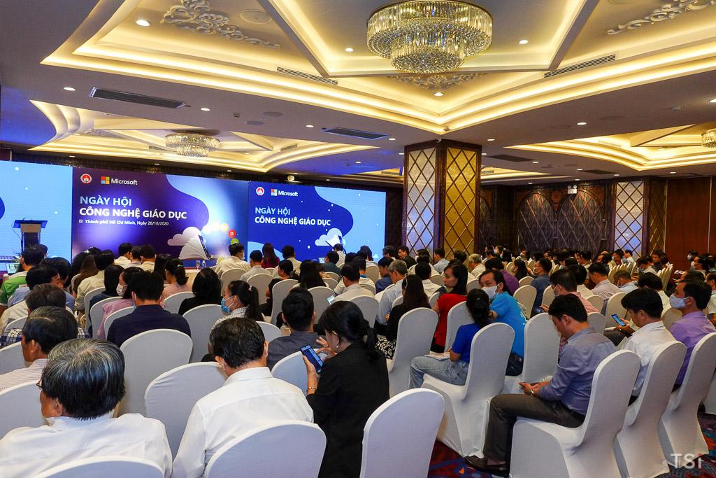 """Sở GD-ĐT TP.HCM cùng Microsoft tổ chức """"Ngày Hội Công nghệ Giáo dục"""""""