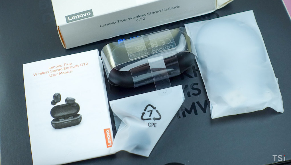 Tai nghe True Wireless Lenovo GT2: giá rẻ, âm thanh khá, pin lâu