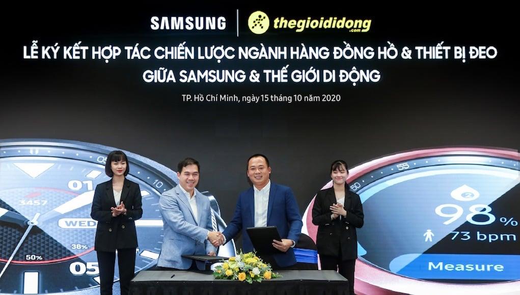 Thế Giới Di Động độc quyền phân phối Samsung Galaxy Watch 3