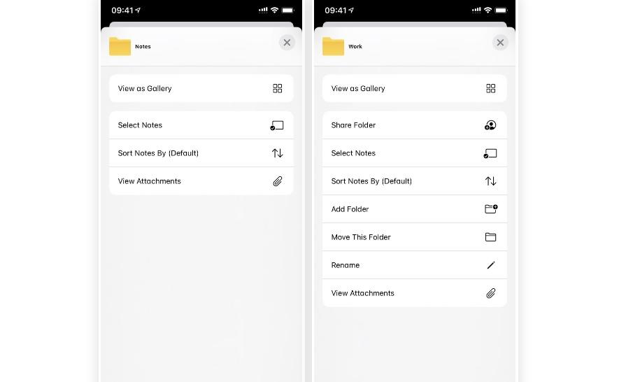12 tính năng mới trong ứng dụng Ghi chú mặc định trên iOS 14