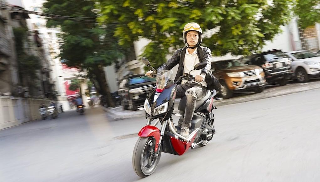YADEA X5: đậm chất thể thao đường phố, lái thú vị