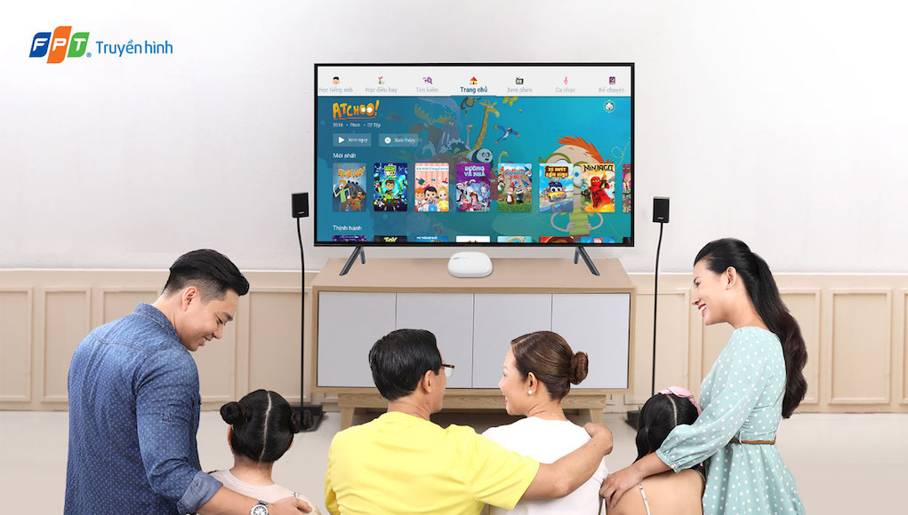 Truyền hình FPT làm mới thiết kế bộ giải mã FPT TV 4K FX6