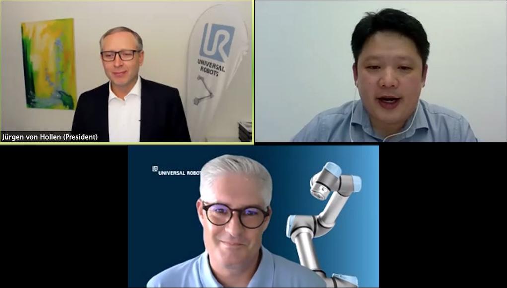 Universal Robots tổ chức họp trực tuyến các nhà lãnh đạo trong lĩnh vực Cobot