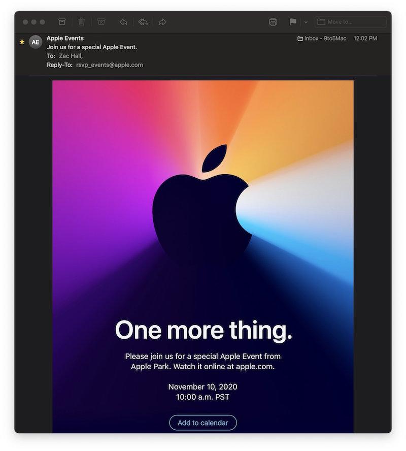 Apple bất ngờ công bố sự kiện ngày 10/11 tới