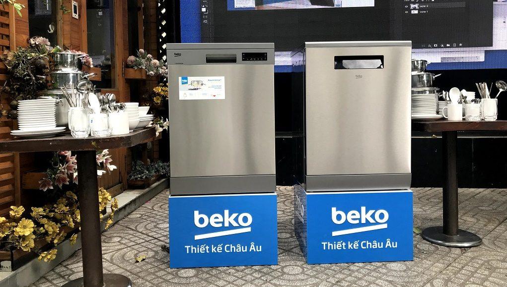 Beko ra mắt 4 dòng máy rửa chén độc lập tại Việt Nam
