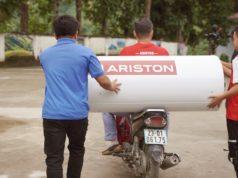 Biệt đội Ariston mang 30 máy nước nóng trao tặng 1000 học sinh huyện Hoàng Su Phì