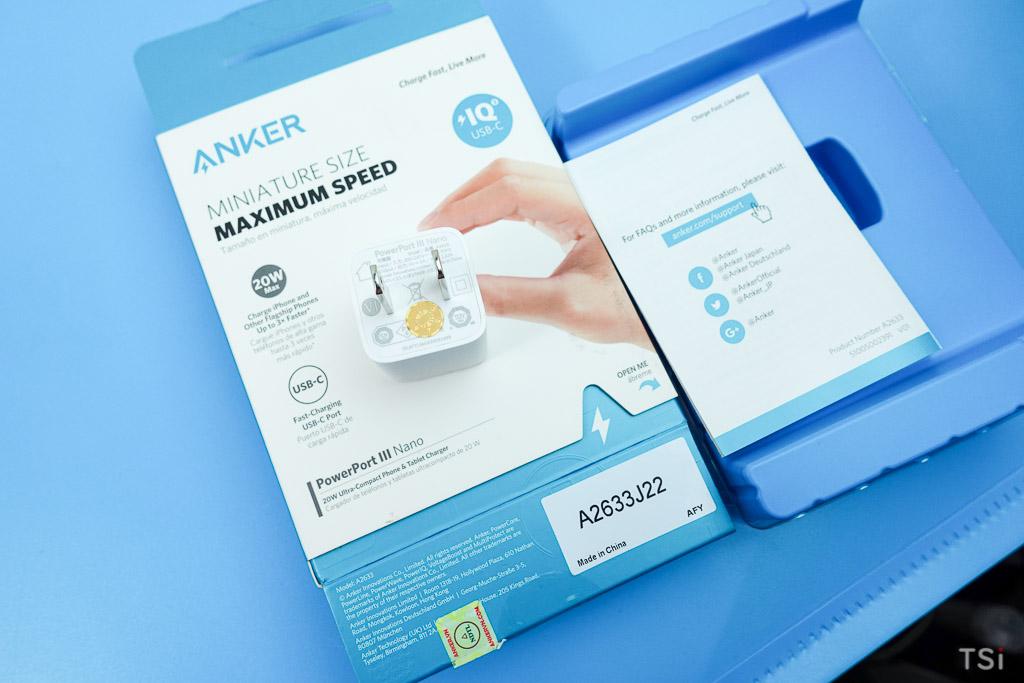 Anker Powerport III Nano A2633: củ sạc nhỏ nhưng xịn cho iPhone 12