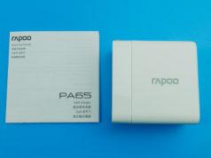 Củ sạc Rapoo PA65: gọn nhẹ, sạc nhanh cho tất cả thiết bị