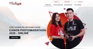 Canon PhotoMarathon 2020 lần đầu được tổ chức trực tuyến