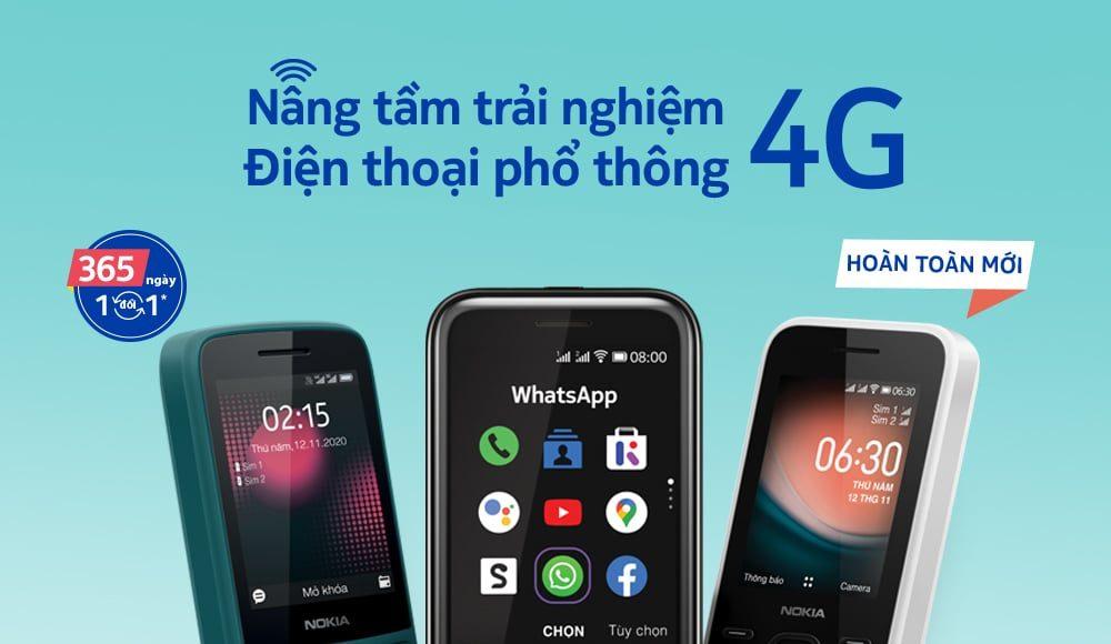 HMD Global ra mắt 3 điện thoại phổ thông Nokia mới tích hợp kết nối 4G