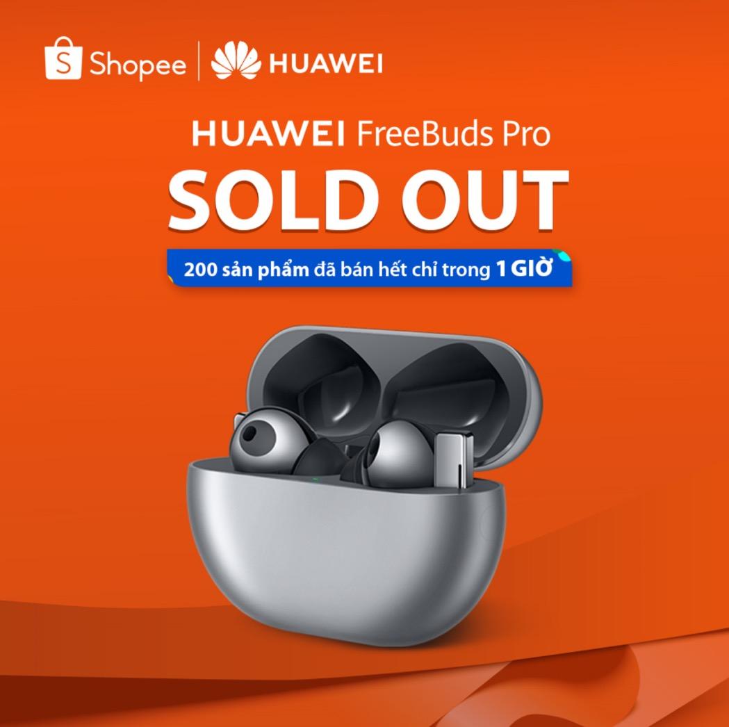 Huawei FreeBuds Pro mở bán ngày 11/11 sau khi 'cháy' 200 suất đầu tiên