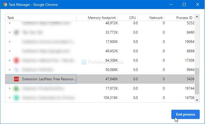Khắc phục lỗi tiện ích mở rộng của Chrome không hoạt động