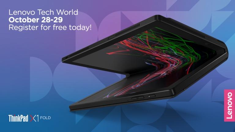 Những thông tin về sự kiện Lenovo Tech World 2020