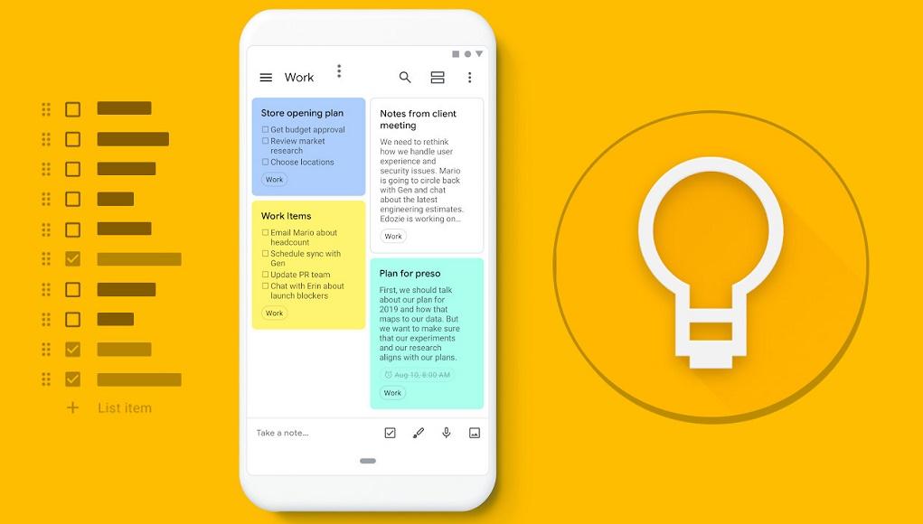 Google Keep là gì? Hướng dẫn sử dụng hiệu quả ứng dụng ghi chú Google Keep