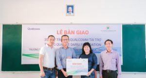 Qualcomm cùng Quỹ Dariu trao máy tính cho các trường học khu vực phía Nam