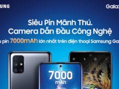 Samsung Galaxy M51 ra mắt với pin đến 7.000 mAh