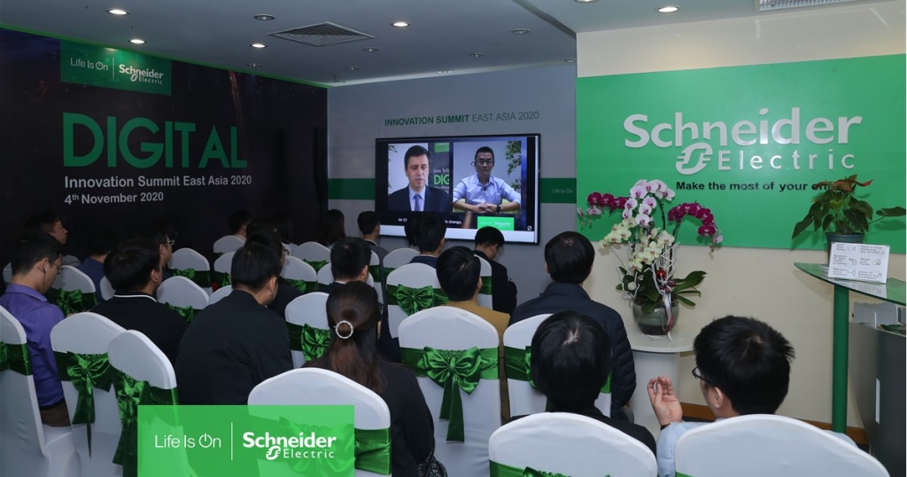Schneider Electric tổ chức hội nghị Innovation Summit East Asia 2020